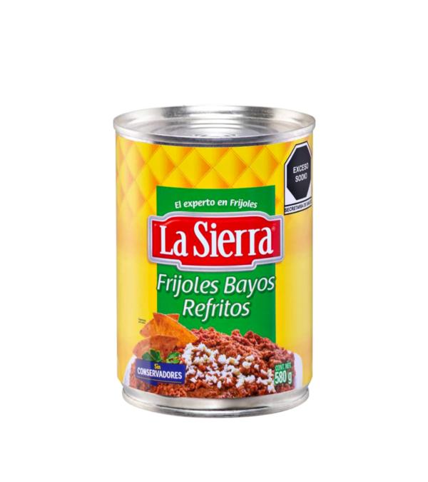 Frijoles bayos refritos 430gr La Sierra Aztek